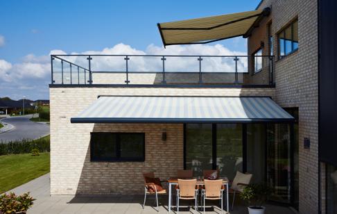 MX 5010 på 2 dejlige terrasser
